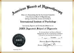 3. ABH공인 최면교육기관 인증서
